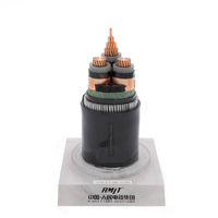 26 / 35 kV Copper Conductor XLPE Insulated Armoured Medium Voltage Power Cable